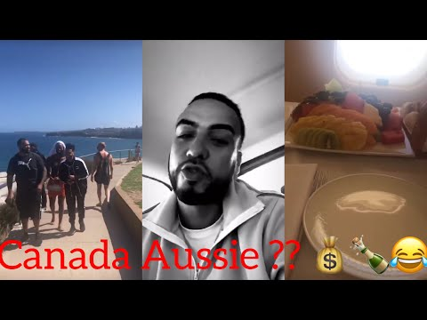 French Montana and the Weeknd In Australie Living Life Lol