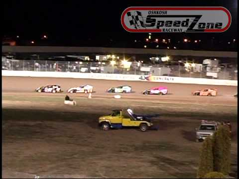 Oshkosh Speedzone Raceway - April 26, 2013 - IMCA Modified Feature