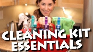 Cleaning Kit Essentials! How to Keep Your Home Clean and Save Time & Money (Clean My Space)