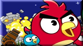 Angry Birds Cannon 2 - Angry Birds Vs Bad Piggies - Angry Birds Game
