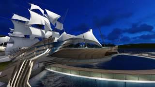 Дизайн-проект набережной Адмиралтейской слободы в Казани