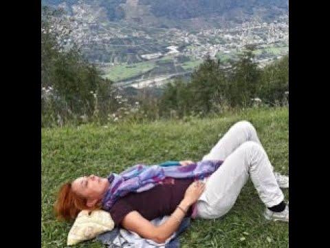 Alexander Technique Active rest: lying down in semi-supine