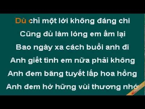 Lanh Lung Karaoke - Như Mai - CaoCuongPro