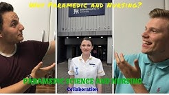 Course Talk: Student Paramedic Meeting Student Nurse - Why Paramedic Science / Nursing Student UK