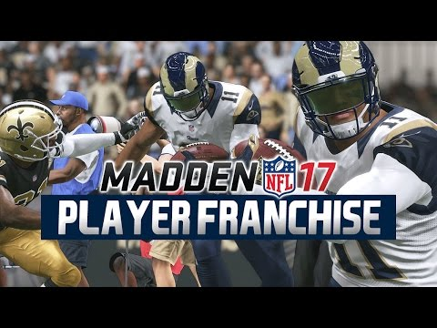Madden NFL 17 - WR Player Franchise Ep. 18 - Week 17 at. Saints  [Rookie Season]