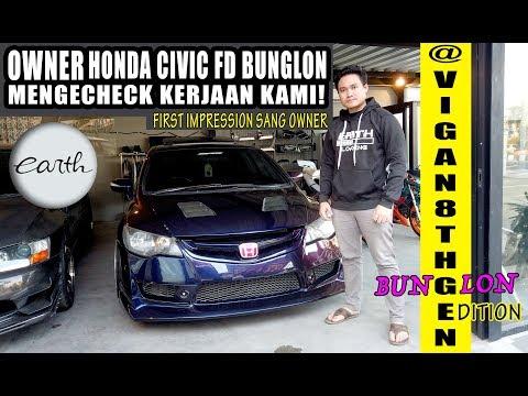 Modifikasi Honda Civic FD Bunglon Kerjaan Kami Di Check Sang Owner #carvlog