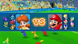 [Mario & Sonic Rio 2016] 3DS Soccer Gameplay