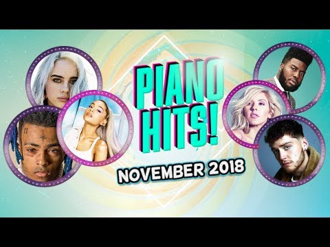 Piano Hits .♪ ♫ Pop Songs November 2018 : Over 1 hour of Billboard hits - music for classroom ,study Mp3