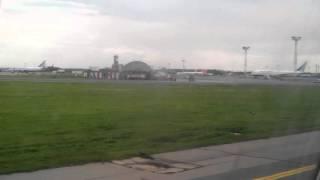 Вид из окна самолёта Ленкорань Москва часть 10
