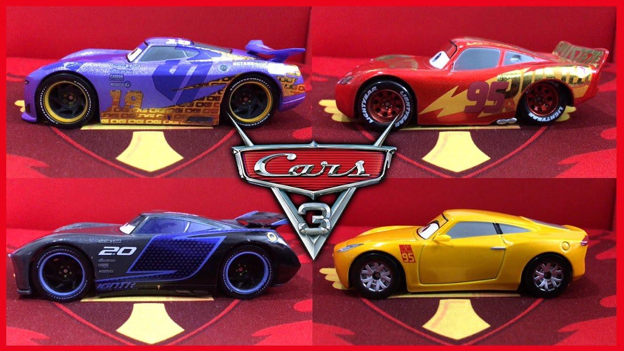 Disney Cars 3 Toys Review Die Cast Daniel Swervez Jackson Storm