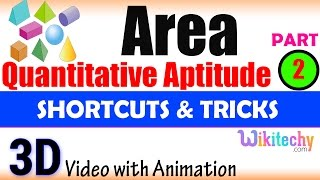 Area 2 aptitude test questions and answers with solutions online videos lectures exams tips