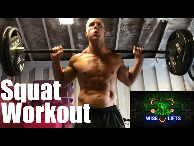Wise Eats Workout – Thursday: Legs (Wise Lifts Weight Lifting Exercise Routine)