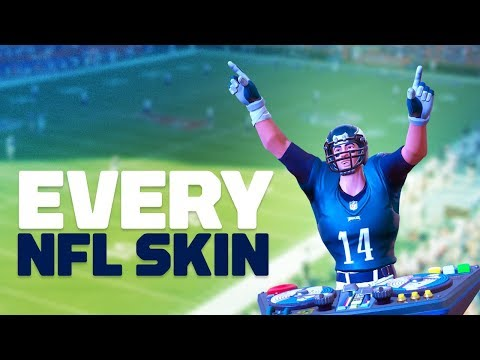 Fortnite: All 33 NFL Skins! thumbnail