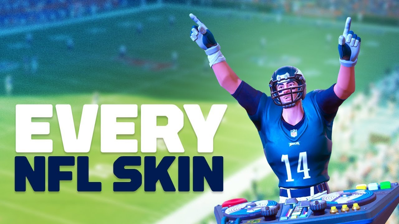 6eebc1c1f58 Fortnite Has Teamed Up With The NFL To Create Skins For Every Single  Football Team