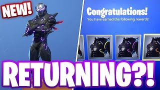 OMEGA LIGHTS RETURNING TO FORTNITE SEASON 7?! (Leak/Bug explained)