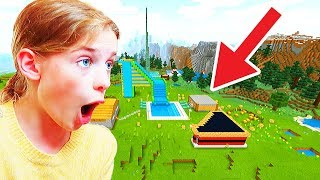 BEST WATERPARK IN MINECRAFT WINS *surprise* Gaming w/ The Norris Nuts