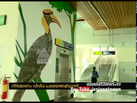 Thematic splendour for Kochi metro stations