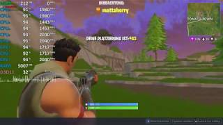 Fortnite: Battle Royale on AMD Ryzen 7 2700U Vega 10