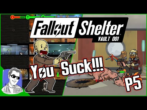 Fallout Shelter Vault 001 - Go Home Mr Burke