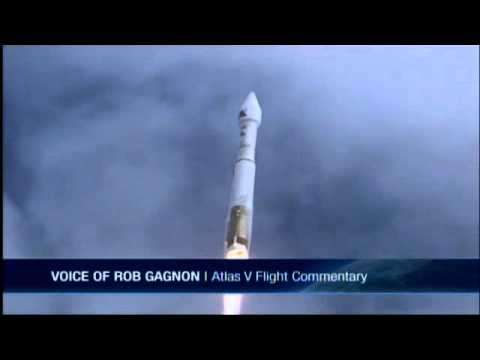 Air Force launches US spy satellite on secret mission.