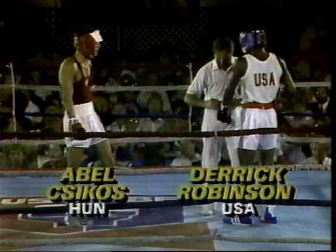"ABC ""Wide World of Sports"" amateur boxing ""USA vs The World"" Hungary vs USA 1985"
