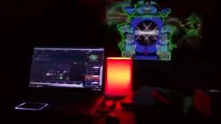 Test Mapping Soirée Time Machine par Nagual et Lokomotion Drop