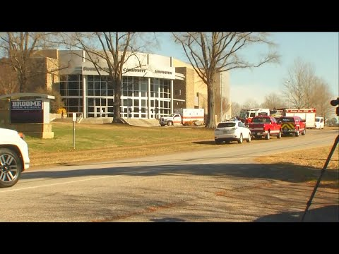 Broome High School placed on lockdown, students evacuated