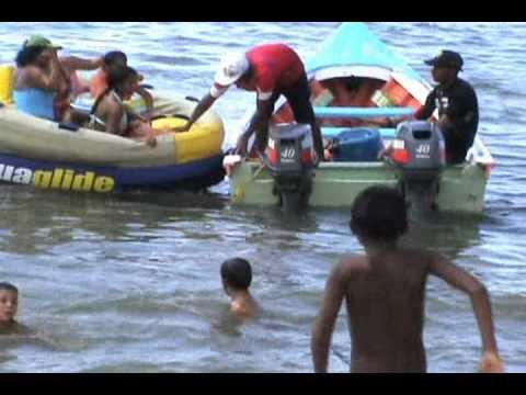 Vacaciones  en Carupano, agosto 2011
