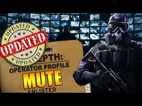 Rainbow Six Siege - In Depth: UPDATED Operator Profile - MUTE