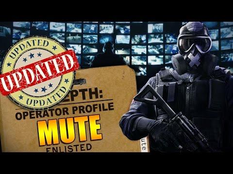 Rainbow Six Siege - In Depth: UPDATED Operator Profile - MUTE