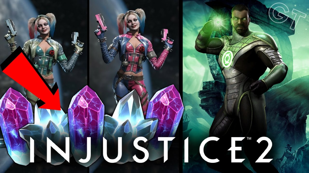 injustice 2 how to make crystals