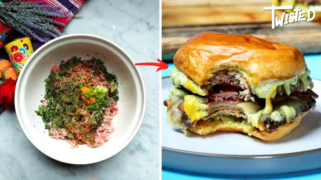 Cubano Style Smash Burger Recipe