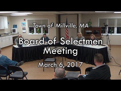 Board of Selectmen - March 6, 2017