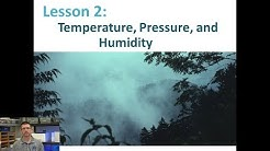 Lesson 5.2.2 - Temperature, Air Pressure, and Humidity