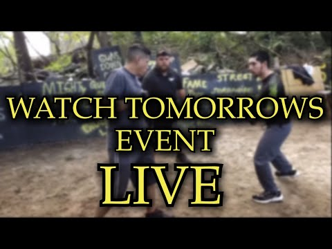 WATCH THE EVENT LIVE!!!!