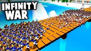 Spawning INFINITE UNITS! Massive BRIDGE BATTLE To Win The WAR! (Rise of Liberty Update Gameplay)
