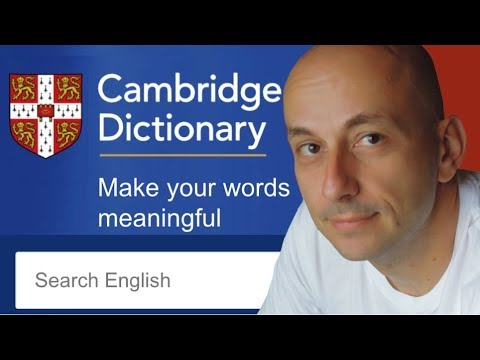 Cambridge Dictionary online: Pros and Cons