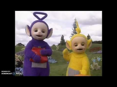 Teletubbies-Teletubbies sing in tinky winkys bag