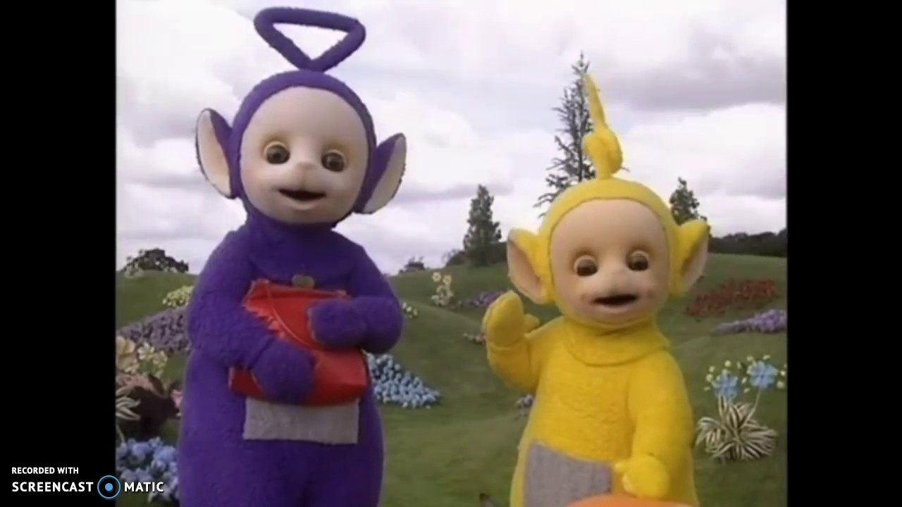 Teletubbies Sing In Tinky Winkys Bag