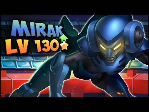 MIRAK (LV 130) COMBATES PVP - Monster Legends Review