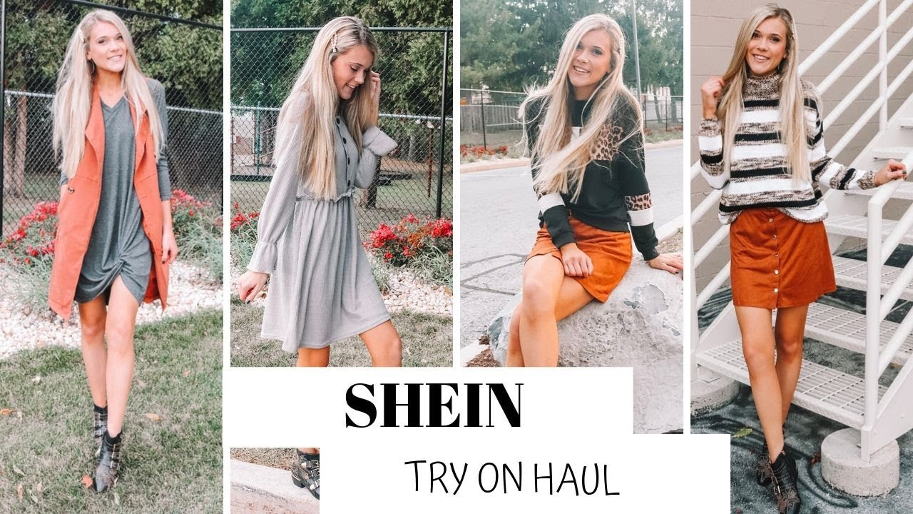 [VIDEO] - Huge Shein Fall Try on Haul | Outfit Ideas 2019 6