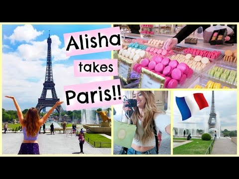 ALISHA GOES TO PARIS + SEEING THE EIFFEL TOWER!!!!
