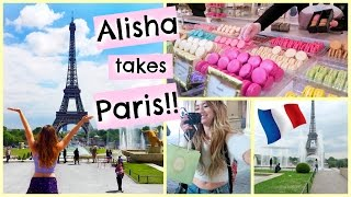 ALISHA GOES TO PARIS + SEEING THE EIFFEL TOWER!!!!(AHH!! I went to Paris and it was so much fun!! Sorry I'm behind on my vlogs...just trying to enjoy vacation!! They're coming though! Watch Mia and I go on a Paris ..., 2015-05-30T04:23:17.000Z)