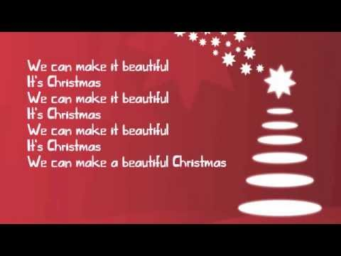 Big Time Rush - Beautiful Christmas ~Lyrics~