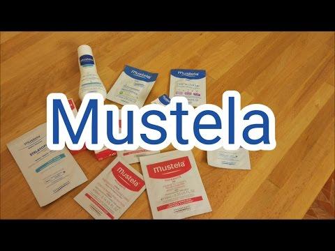 Отзыв о  косметике Mustela (пробники)