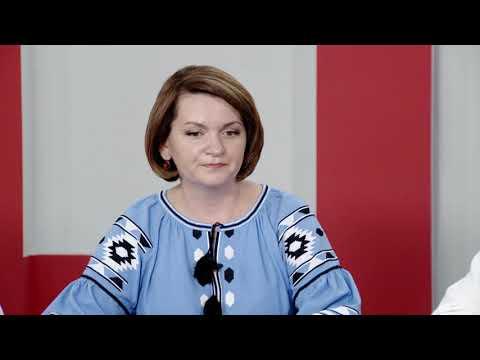 Актуальне інтерв'ю. О. Савчук. В. Попович. О. Тягнибок. Передвиборчі очікування