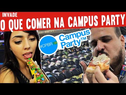 O Que Comer na Campus Party   MiniCozinha Invade   #MINICOZINHA