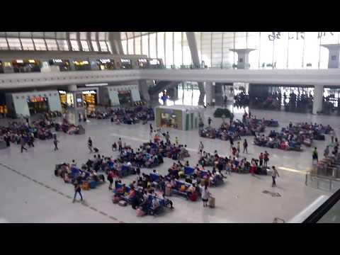 Hangzhou railway station - 360 degree view