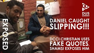 EXPOSED!! DCCI Christian Caught Lying about the Quran | Shamsi