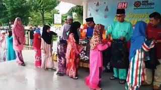 Semarak Ramadan Beri Manfaat, Ceriakan Kampung Sayong Lembah